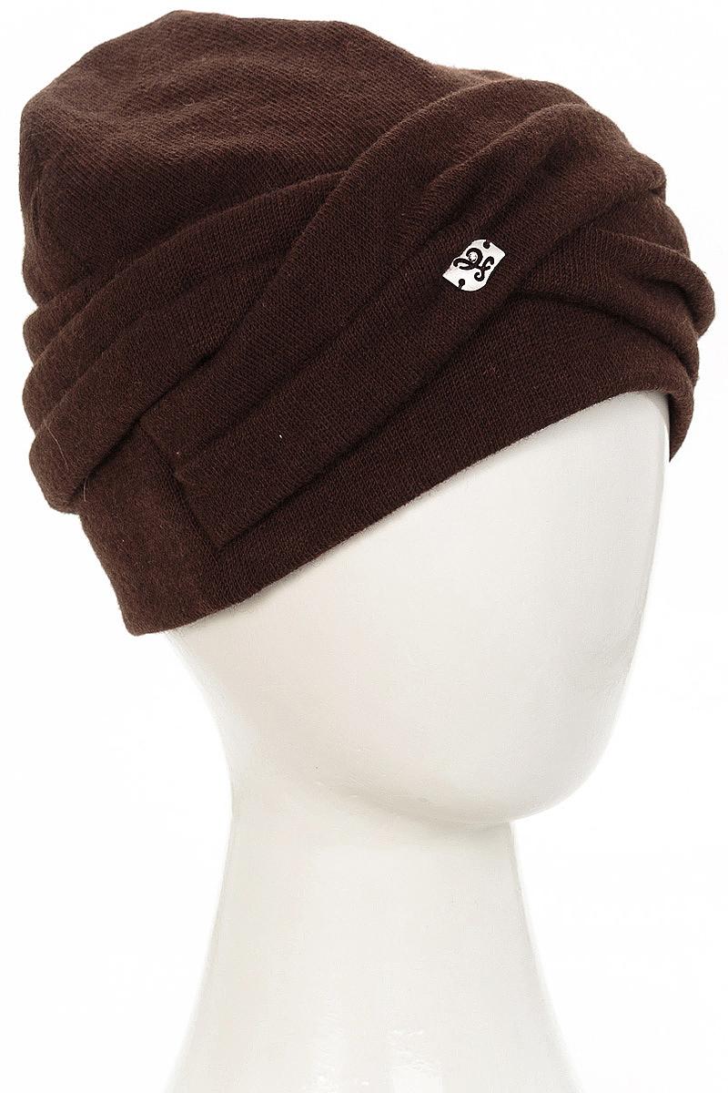 Шапка женская Level Pro Зарина, цвет: темно-коричневый. 407753. Размер 56/58407753Стильная женская шапка Level Pro дополнит ваш наряд и не позволит вам замерзнуть в холодное время года. Шапка на флисовой подкладке выполнена из пряжи сложного состава с содержанием шерсти и акрила, что позволяет ей великолепно сохранять тепло и обеспечивает высокую эластичность и удобство посадки. Такая шапка составит идеальный комплект с модной верхней одеждой, в ней вам будет уютно и тепло.