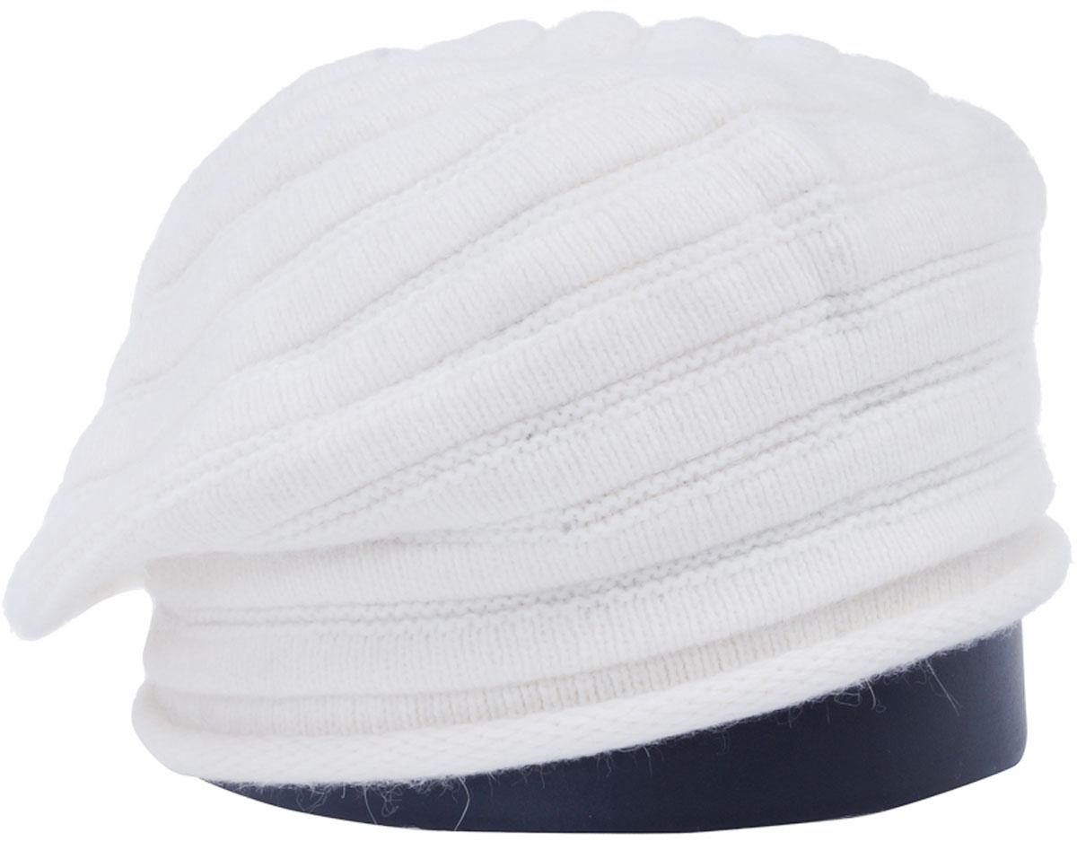 Шапка женская Vittorio Richi, цвет: белый. Aut161825L-11/17. Размер 56/58Aut161825LСтильная женская шапка Vittorio Richi отлично дополнит ваш образ в холодную погоду. Модель, изготовленная из высококачественных материалов, максимально сохраняет тепло и обеспечивает удобную посадку. Привлекательная стильная шапка подчеркнет ваш неповторимый стиль и индивидуальность.