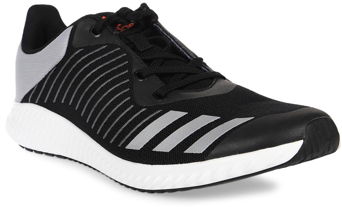 Кроссовки для мальчика adidas Fortarun K, цвет: черный, серый. BA7882. Размер 37BA7882Кроссовки от Adidas придутся по душе вашему ребенку. Верх обуви, изготовленный из бесшовного сетчатого верха, оформлен фирменной нашивкой на язычке. Классическая шнуровка надежно зафиксирует изделие на ноге. Промежуточная подошва Cloudfoam для комфортного шага и превосходной амортизации. Подкладка и стелька из текстиля гарантируют комфорт и уют. Стильные кроссовки займут достойное место в гардеробе вашего ребенка.
