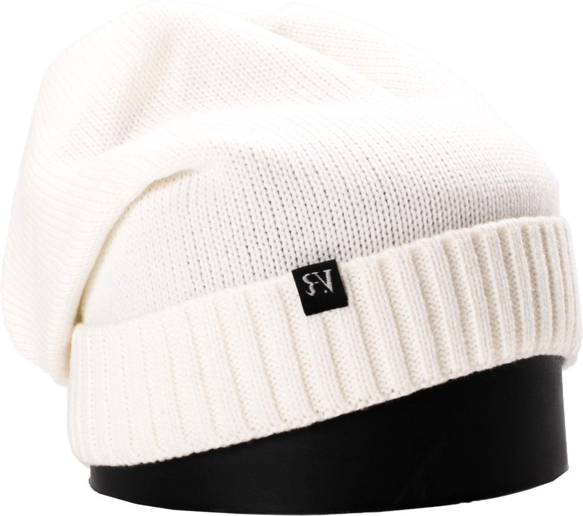 Шапка женская Vittorio Richi, цвет: белый. NSH150701. Размер 56/58NSH150701Стильная женская шапка Vittorio Richi отлично дополнит ваш образ в холодную погоду. Модель, изготовленная из шерсти с добавлением полиамида, максимально сохраняет тепло и обеспечивает удобную посадку. Шапка дополнена сзади декоративным элементом и сбоку фирменной нашивкой. Привлекательная стильная шапка подчеркнет ваш неповторимый стиль и индивидуальность.