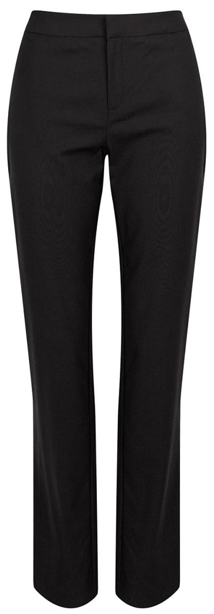 Брюки женские Love Republic, цвет: черный. 8151105702_50. Размер 448151105702_50Стильные женские брюки Love Republic выполнены из качественного материала. Модель прямого кроя со стандартной посадкой выполнена в лаконичном стиле. Брюки застегиваются на застежку-молнию. Эти брюки послужат отличным дополнением к вашему гардеробу и помогут создать неповторимый современный образ.