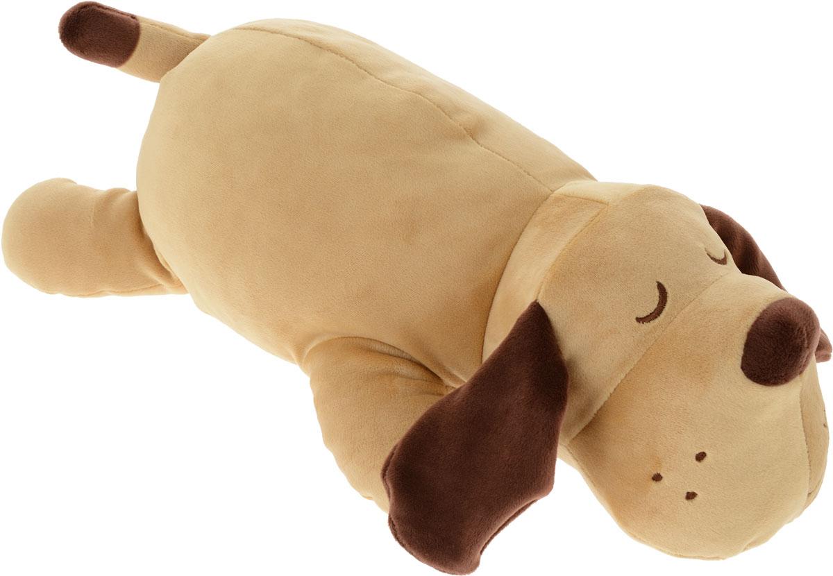 СмолТойс Мягкая игрушка Собачка Сплюшка 45 см смолтойс мягкая игрушка зайка даша цвет салатовый 41 см