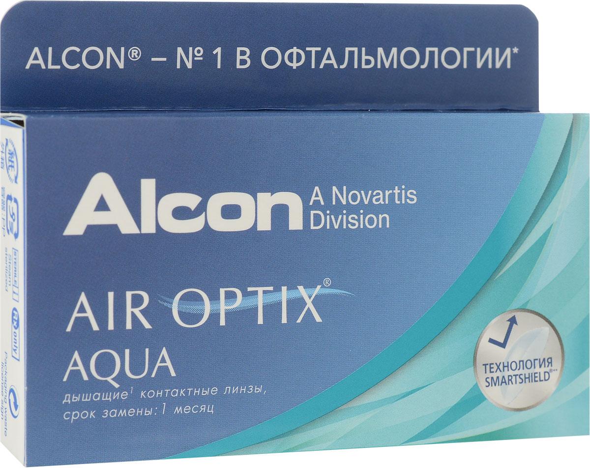 Аlcon контактные линзы Air Optix Aqua 6шт / +5.00 / 14.20 / 8.6/