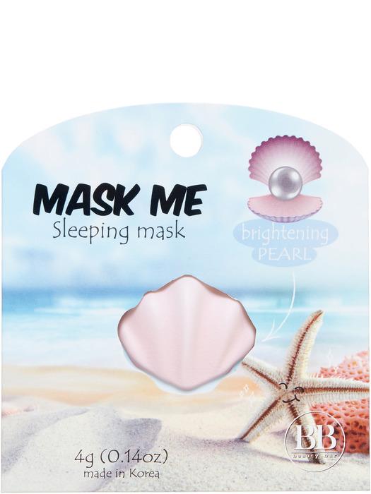 Beauty Bar Ночная маска для лица, освежающая, жемчужная, 4 г820794Маски Mask me (Корея) подойдут для людей, которые ведут активный образ жизни и хотят быстрого результата от ночных несмываемых экспресс-средств. После применения кожа выглядит свежей, гладкой и напитанной. Маска состоит из гелевой и кремовой основы, которые надо смешать перед применением. Наносится на ночь, отлично впитывается, и при этом не ощущается. Хватает на 2 использования.