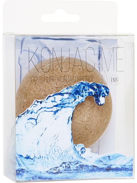 Beauty Bar Спонж Конняку для лица, зеленый чай820824Спонж для умывания лица Konjac Sponge помогает идеально очистить кожу лица. Подходит для любого типа кожи. Произведена из натурального природного материала-корень коньяку.