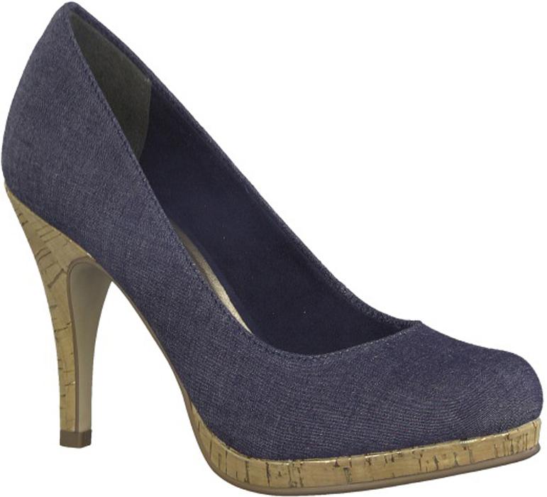 Туфли женские Tamaris, цвет: синий. 1-1-22407-20-807. Размер 37