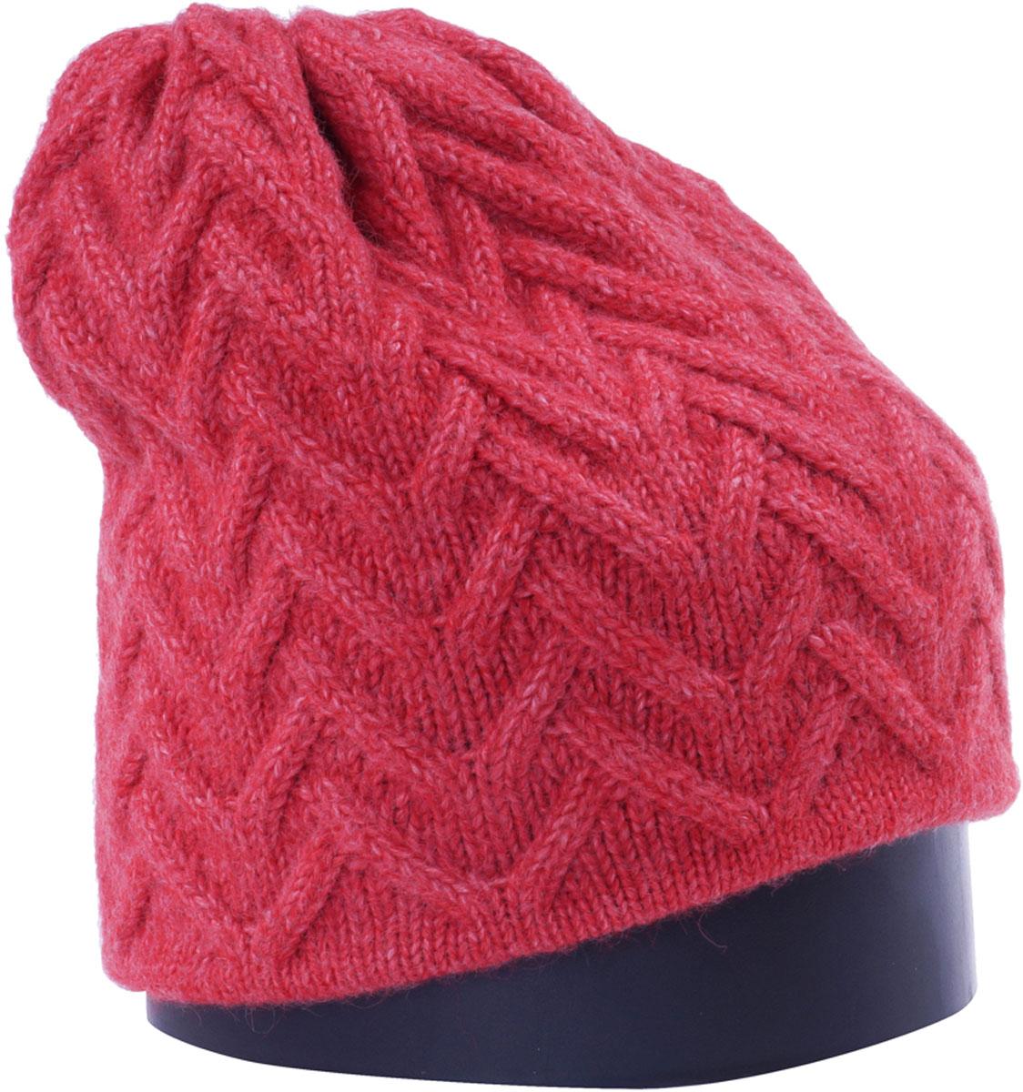 Шапка женская Vittorio Richi, цвет: коралловый. Aut141936V-28/17. Размер 56/58 шапка женская vittorio richi цвет коралловый nsh170778 размер 58 60
