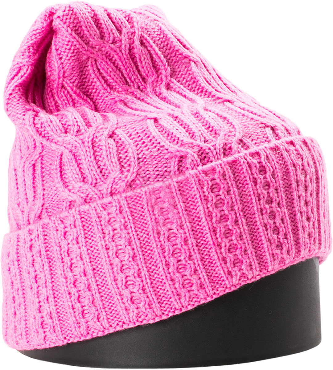 Шапка женская Vittorio Richi, цвет: розовый. NSH900198. Размер 56/58NSH900198Стильная женская шапка Vittorio Richi отлично дополнит ваш образ в холодную погоду. Модель, изготовленная из шерсти с добавлением акрила, максимально сохраняет тепло и обеспечивает удобную посадку. Шапка дополнена ажурной вязкой и сбоку фирменной нашивкой. Привлекательная стильная шапка подчеркнет ваш неповторимый стиль и индивидуальность.