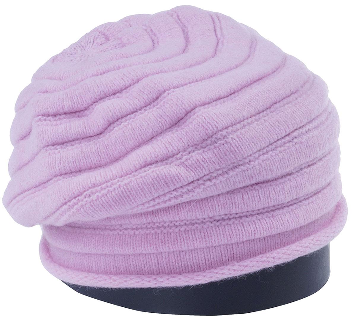 Шапка женская Vittorio Richi, цвет: светло-розовый. Aut161825L-39/17. Размер 56/58Aut161825LСтильная женская шапка Vittorio Richi отлично дополнит ваш образ в холодную погоду. Модель, изготовленная из высококачественных материалов, максимально сохраняет тепло и обеспечивает удобную посадку. Привлекательная стильная шапка подчеркнет ваш неповторимый стиль и индивидуальность.