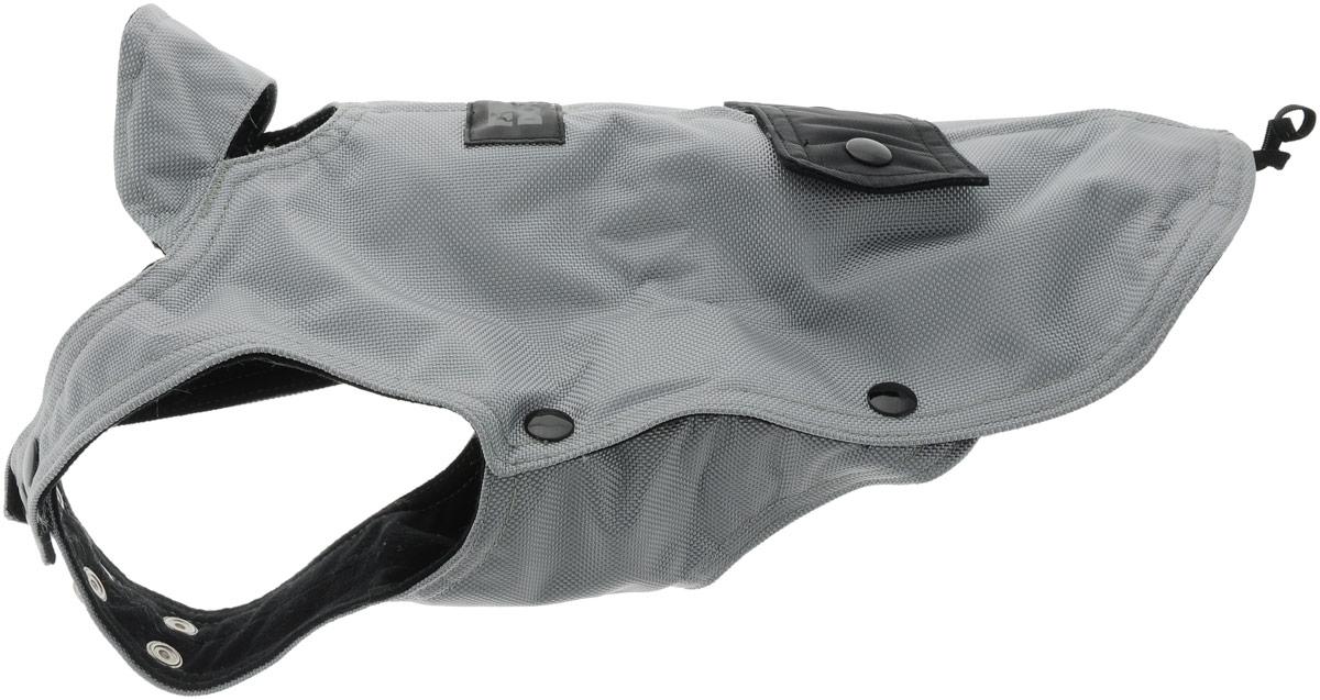 Шлейка для собак Camon. Размер MCB050/BШлейка для Camon предназначена для собак. В отличие от ошейника, она бережно охватывает шею и грудь питомца, не пережимая тело. Движения животного при этом не скованы, а наличие самой шлейки практически не ощущается. Мягкая ткань делает прогулки домашнего питомца комфортными и легкими, позволяет почувствовать свободу движения. Шлейка имеет застежки - кнопки, с помощью которой можно отрегулировать объем. Минимальный обхват шеи - 35 см.Длина по спинке - 30 см.