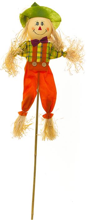 Украшение на ножке Village People Соломенное солнышко, цвет: красный, высота 79 см. 66942_1 украшение на ножке village people приветливая бабочка высота 50 см