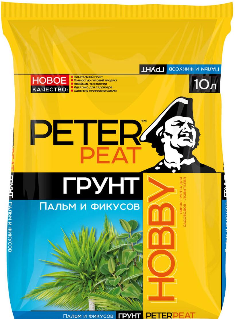 """Питательный грунт  Peter Peat """"Пальмы и фикусы"""" предназначен для выращивания пальм, фикусов, монстеры, юкки и других крупномерных растений. Улучшает декоративные качества растений."""