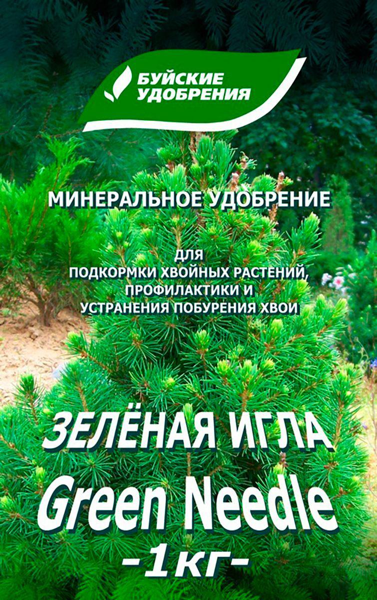 Средство от побурения хвои Буйские Удобрения Зеленая Игла, 1 кг акварин цветочный буйские удобрения 0 5кг