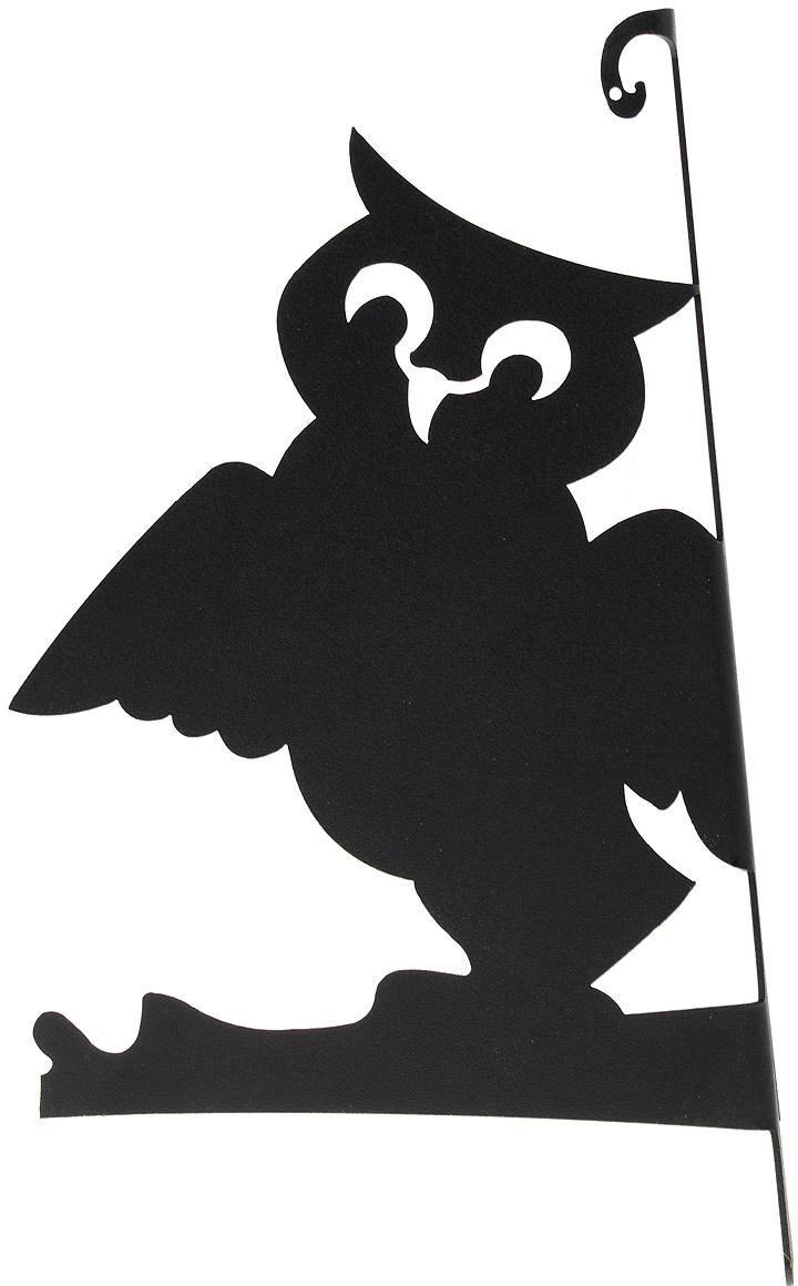 Держатель для цветов Duck&Dog Филин. ДЦ35020 ДЦ35020ДЦ35020Оригинальный держатель для цветов Duck&Dog Филин поможет вам украсить цветами окружающее вас пространство. С помощью прочного кронштейна вы сможете расположить корзину с цветами в любом удобном месте. Держатель изготовлен из сплавов прочных металлов и покрыт специальной порошковой краской, устойчивой ко всем погодным условиям, что гарантирует долговечность срока службы. Держатель крепится к поверхности с помощью двух шурупов.Английская компания Duck And Dog вот уже более 140 лет радует своими изделиями поклонников домашнего уюта. В 2001 году компания вышла на российский рынок. Современное высокотехнологичное производство позволяет продукции компании Duck And Dog стать украшением любого дома, сада и дачи.Размер держателя: 29,5 см х 17 см х 3,5 см.