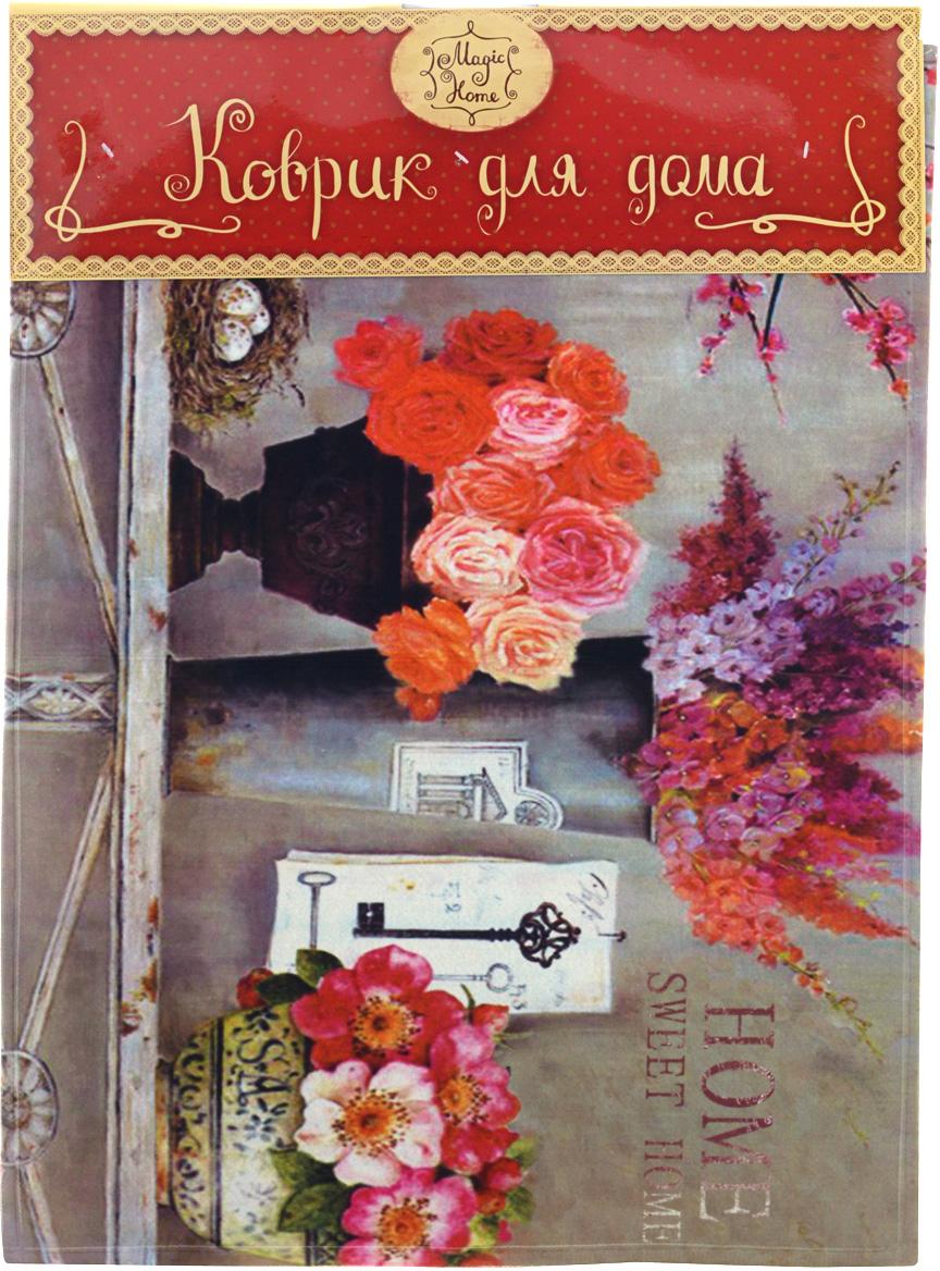 Коврик для входной двери Нежность цветов, 60 см х 45 см