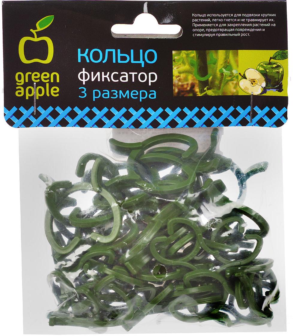 Кольца используются для подвязки хрупких растений,  легко гнется и не травмирует их. Применяется для  закрепления растений на опоре, предотвращая повреждения и стимулируя правильный рост.