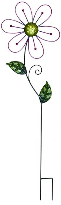 Украшение на ножке Village People Ажурные цветы, цвет: зеленый, высота 82 см.66977_2Украшение на ножке Village People Ажурные цветы изготовлено из металла и предназначено для украшения садового участка, грядок, для поддержки и правильного роста декоративных растений. Легко и просто вставляется в землю. Диаметр цветка: 24 см. Высота: 82 см.