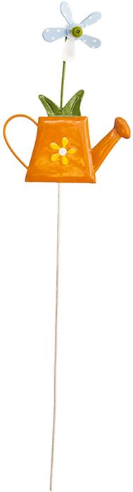 Украшение на ножке Village People Веселая клумба, цвет: оранжевый, высота 29 см. 67159_267159_2Украшение на ножке Village People Веселая клумба поможет вам дополнить экстерьер красивой и яркой деталью. Такое украшение очень просто вставляется в землю с помощью длинной ножки, оно отлично переносит любые погодные условия и прослужит долгое время. Идеально подходит для декорирования садового участка, грядок, клумб, домашних цветов в горшках, а также для поддержки и правильного роста декоративных растений.Размер: 7,5 см х 10 см. Высота: 29 см.