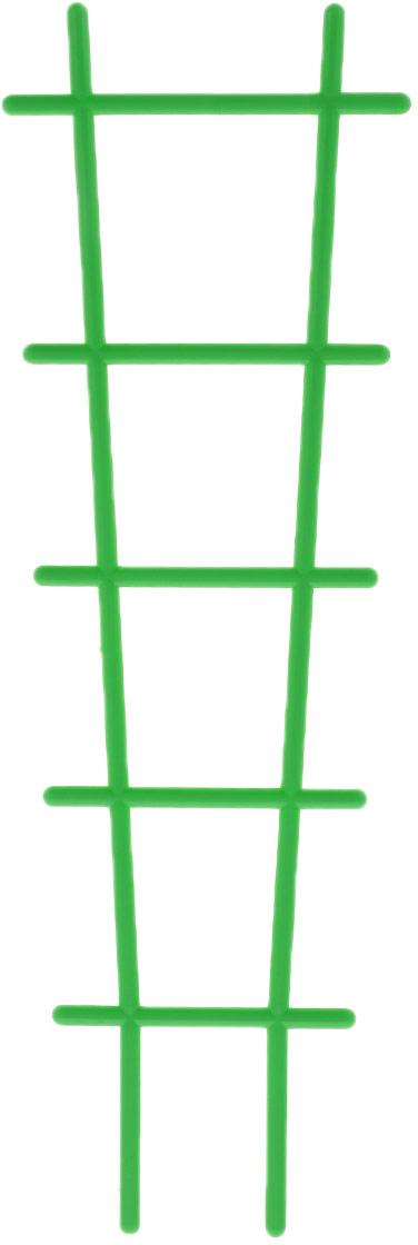 Опора для растений Милих пластик, цвет: зеленый7200Опора Милих пластик, изготовленная из пластика, выполнена в форме лестницы. Такая опора отлично подойдет для поддержки невысоких садовых и комнатных растений.