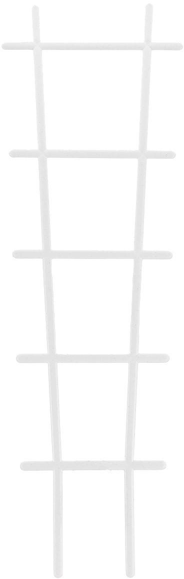 Лесенка для цветов Милих пластик, цвет: белый подставка для цветов на подоконник лесенка 66х95см металл