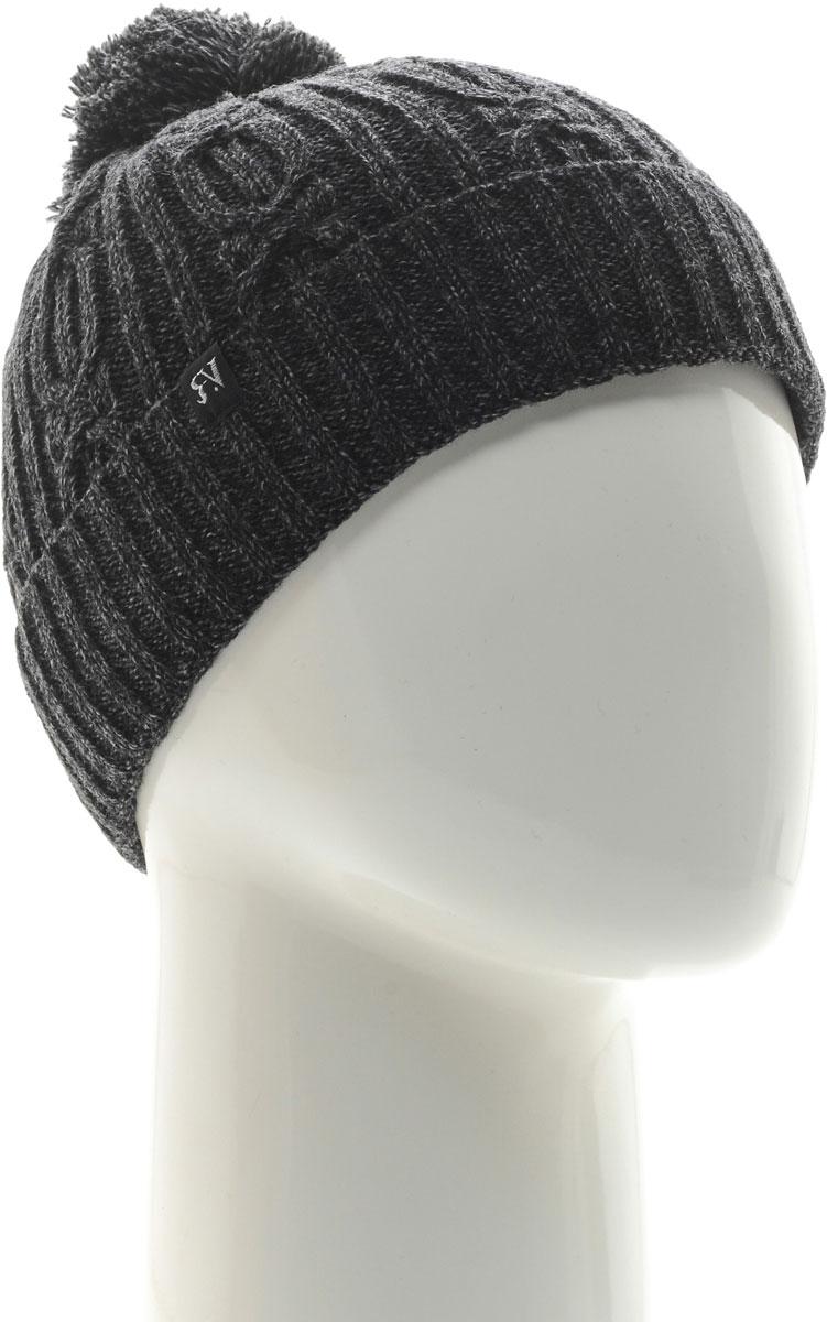Шапка женская Vittorio Richi, цвет: серый. NSH150922. Размер 58/60 шапка женская vittorio richi цвет коралловый nsh170778 размер 58 60