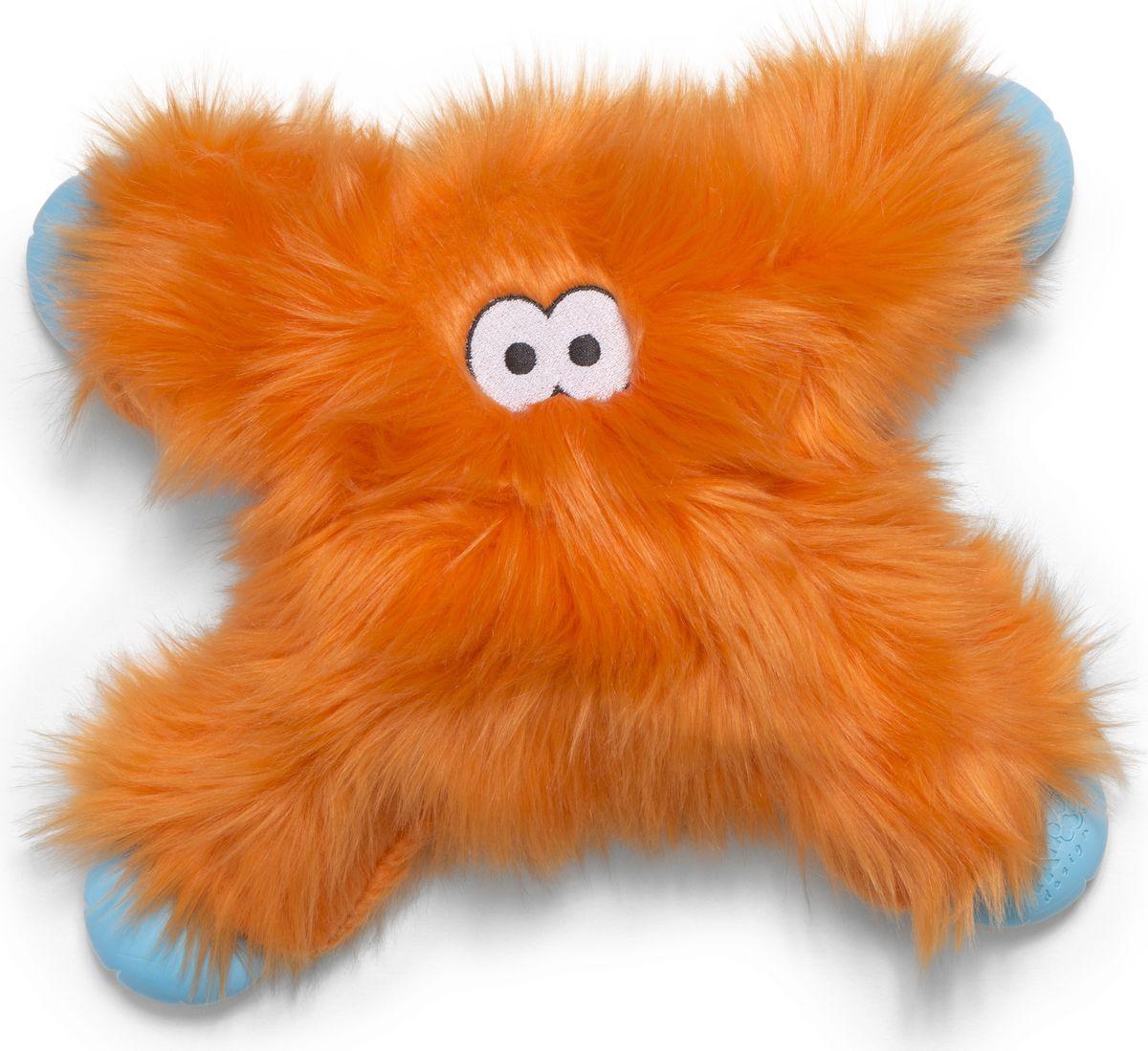 Игрушка для собак Zogoflex  Rowdies Lincoln , цвет: оранжевый, 28 см - Игрушки