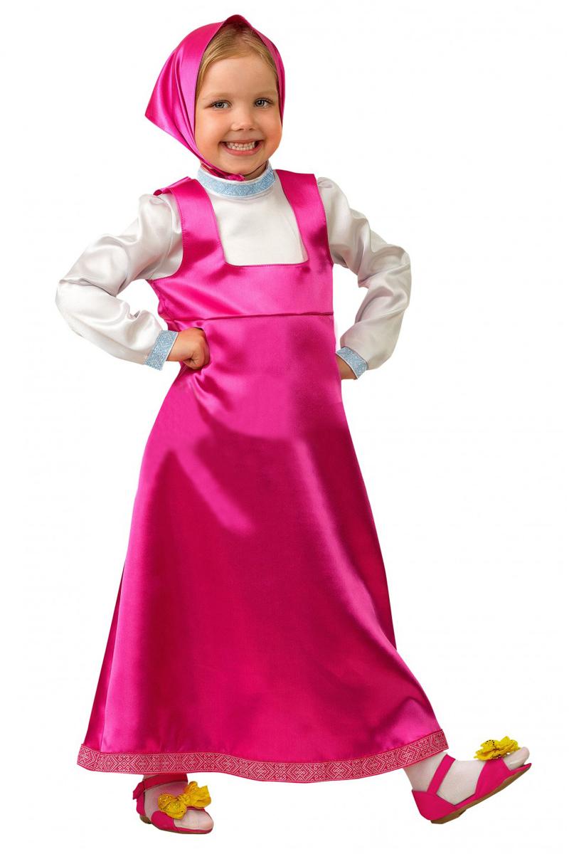 Батик Костюм карнавальный для девочки Маша цвет розовый белый размер 34 карнавальные костюмы батик карнавальный костюм солдат