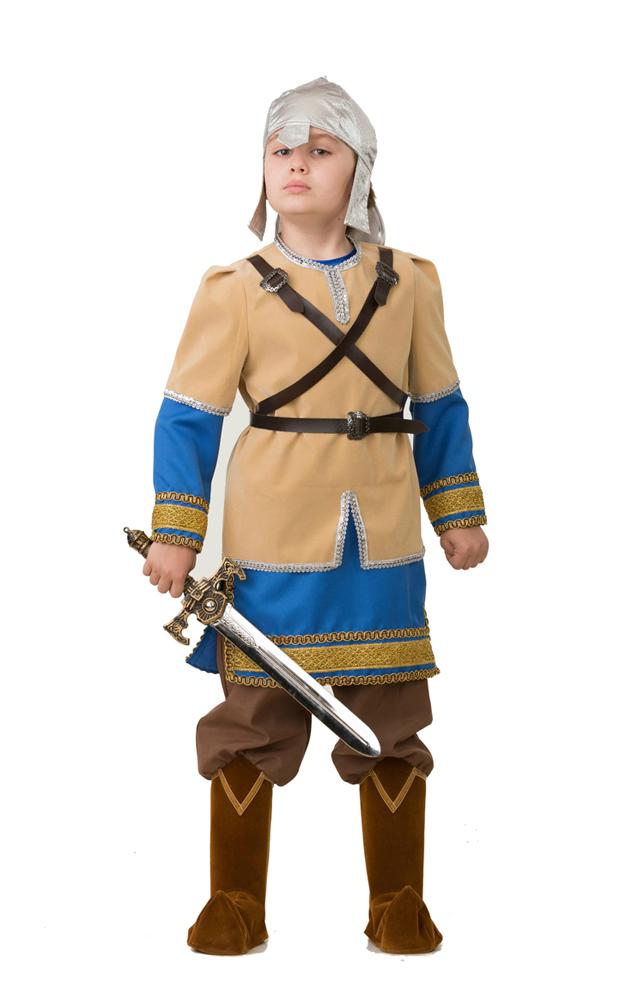 Батик Костюм карнавальный для мальчика Алеша Попович размер 38 оптом купить детские игрушки в москве