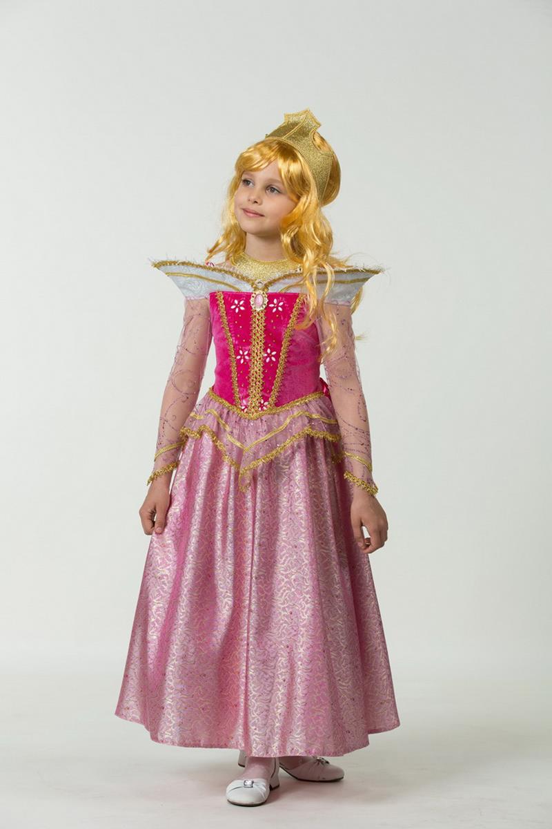 Батик Костюм карнавальный для девочки Принцесса Аврора размер 34 - Карнавальные костюмы и аксессуары