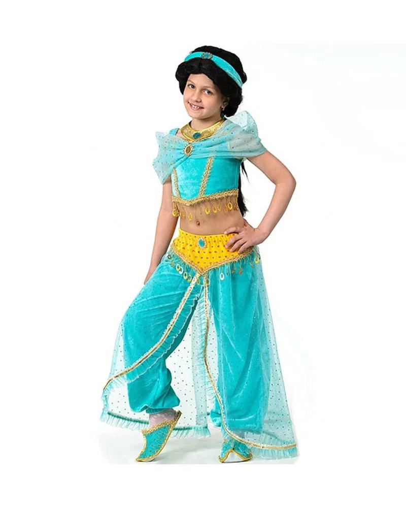 Батик Костюм карнавальный для девочки Принцесса Жасмин размер 38 детский костюм принцессы авроры 34