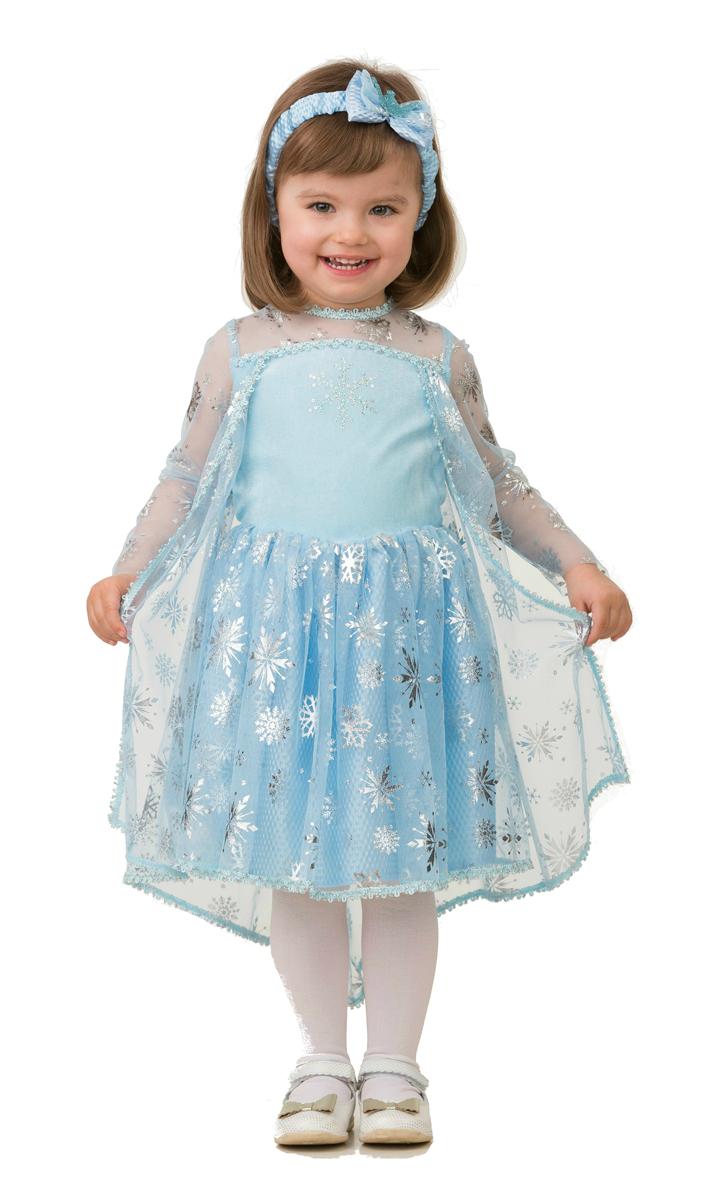 Батик Костюм карнавальный для девочки Принцесса Эльза размер 26
