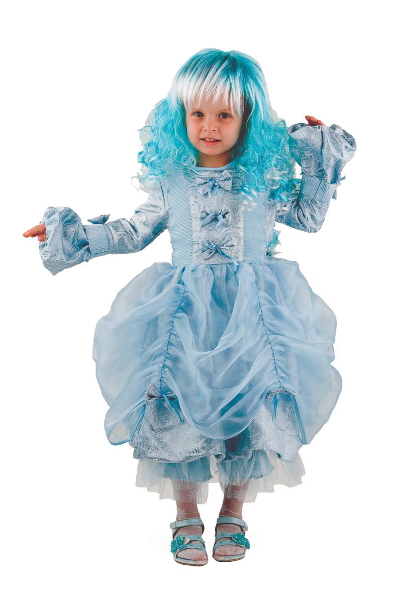 Батик Костюм карнавальный для девочки Мальвина цвет голубой размер 36 карнавальные костюмы batik карнавальный костюм