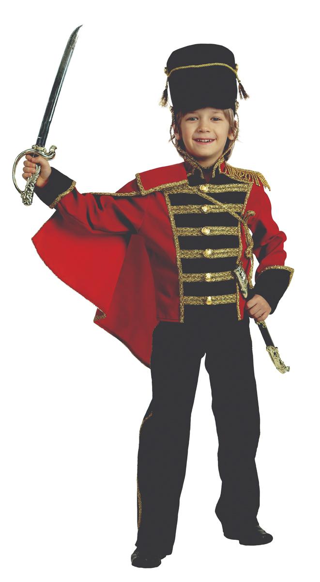 Батик Костюм карнавальный для мальчика Гусар размер 40 батик костюм карнавальный для мальчика витязь размер 34