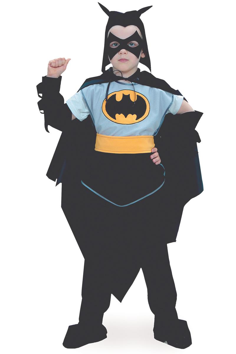Батик Костюм карнавальный для мальчика Черный Плащ размер 36 батик костюм карнавальный для мальчика матрос парадный размер 36