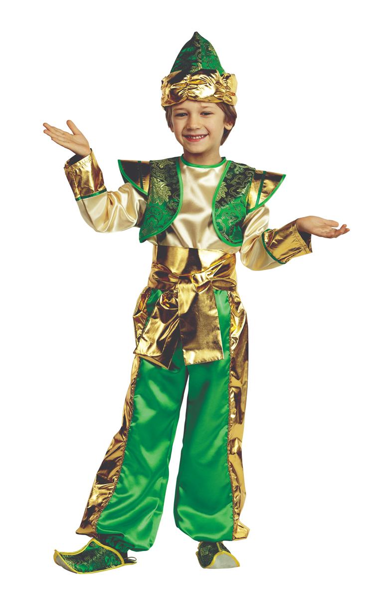 Батик Костюм карнавальный для мальчика Аладдин размер 40 батик костюм карнавальный для мальчика витязь размер 34