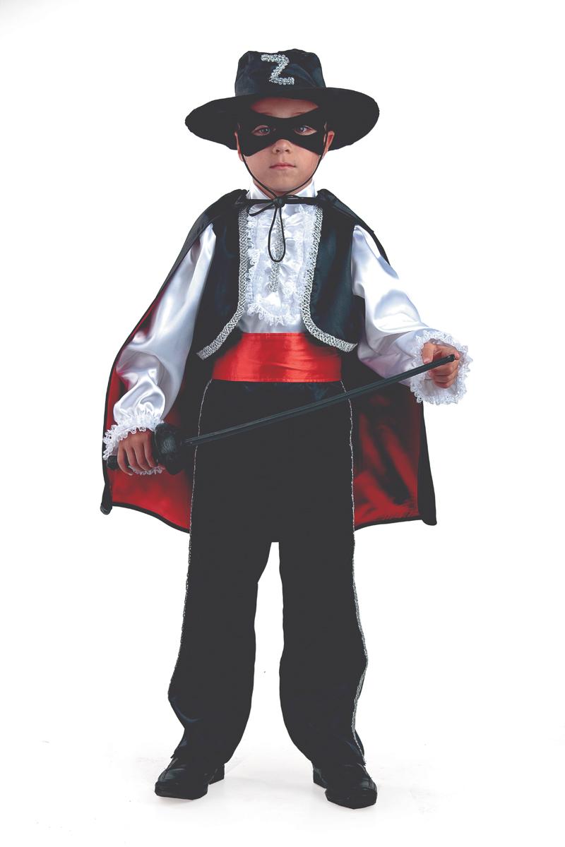 Батик Костюм карнавальный для мальчика Зорро размер 34 - Карнавальные костюмы и аксессуары