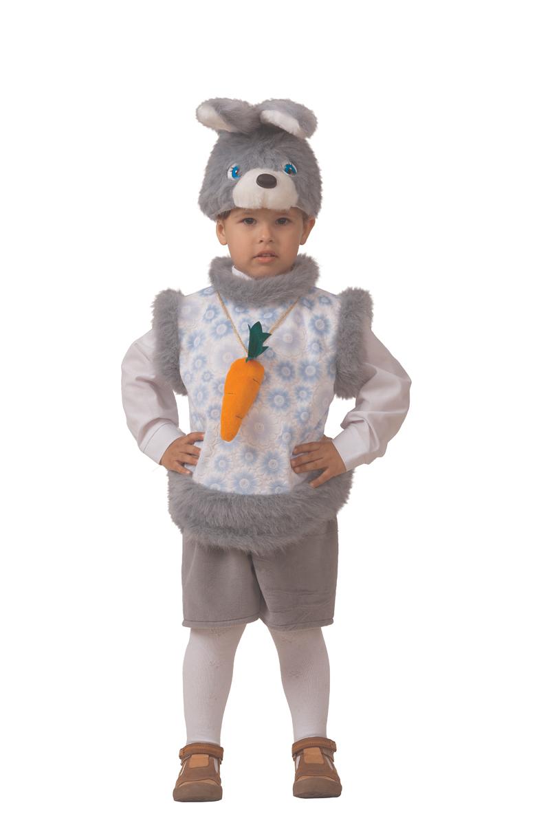 Батик Костюм карнавальный для мальчика Кролик Кроха размер 28 батик костюм карнавальный для мальчика витязь размер 34