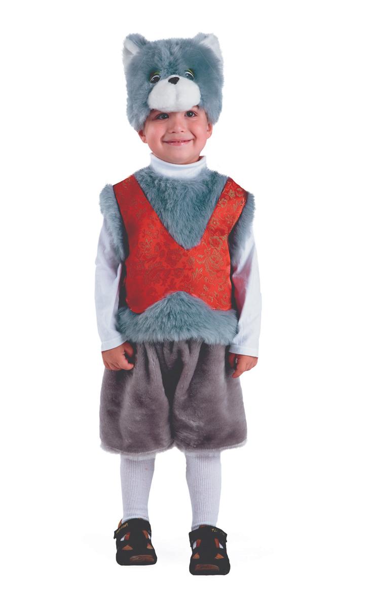 Батик Костюм карнавальный для мальчика Кот Мартын размер 26-28