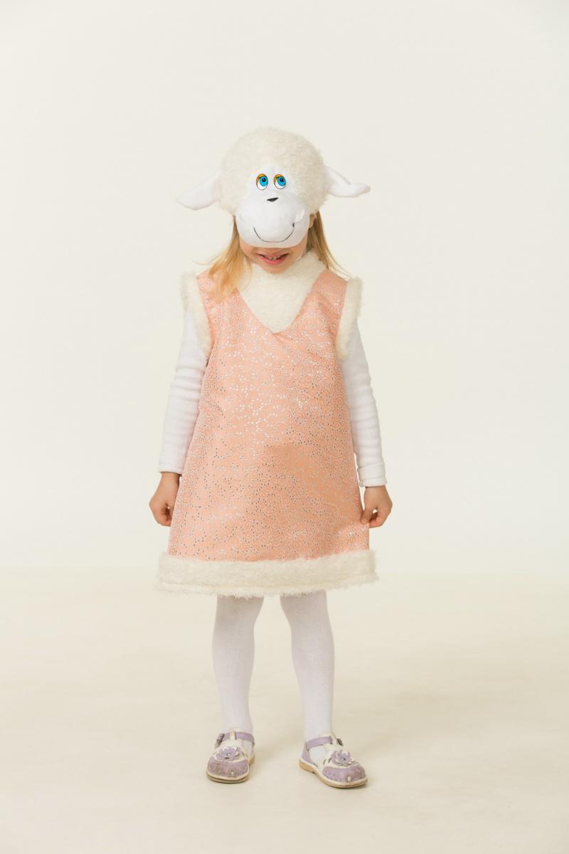 Батик Костюм карнавальный для девочки Овечка Карамелька размер 26-28