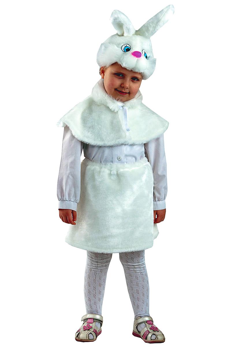 Батик Костюм карнавальный для девочки Зайка размер 28 оптом купить детские игрушки в москве