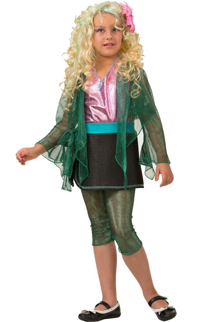 Батик Костюм карнавальный для девочки Лагуна Блю размер 36 monster high кукла большой кошмарный риф лагуна блю