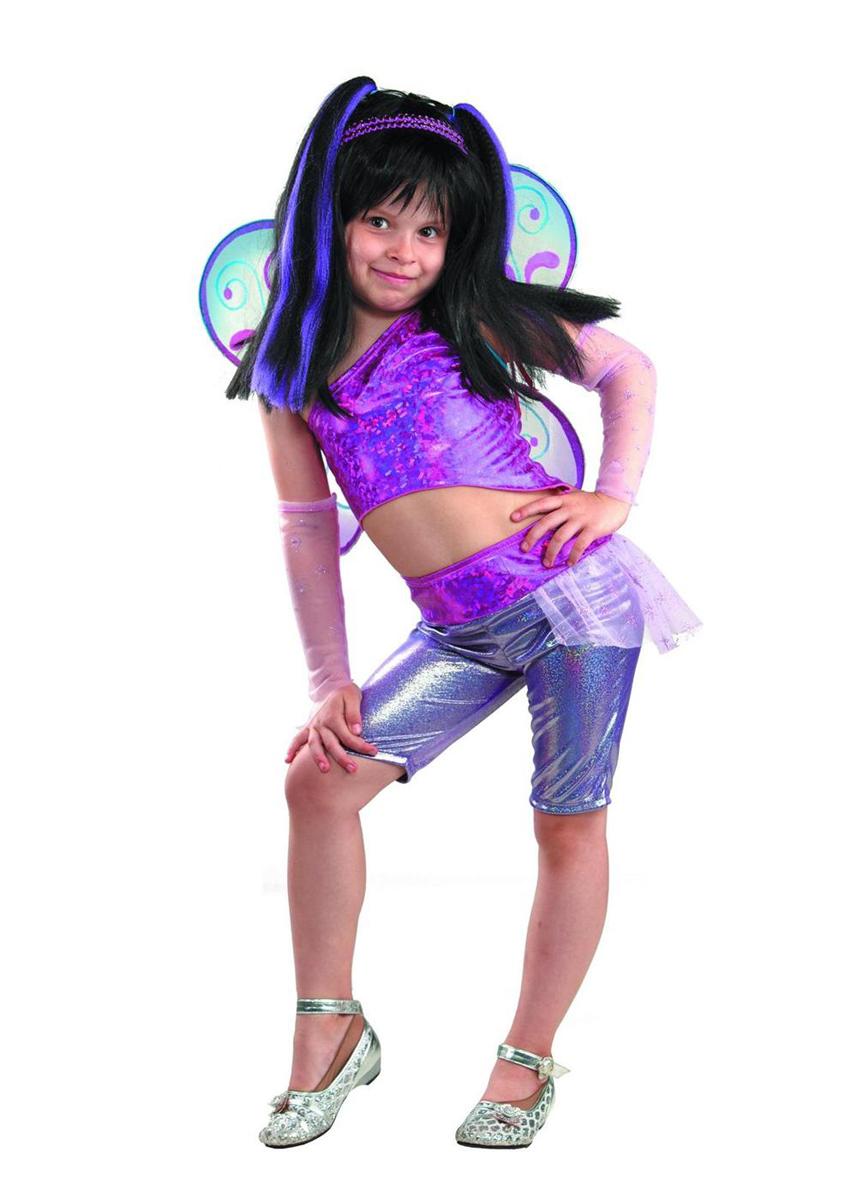 Батик Костюм карнавальный для девочки Муза размер 34 детский костюм озорного клоуна 34