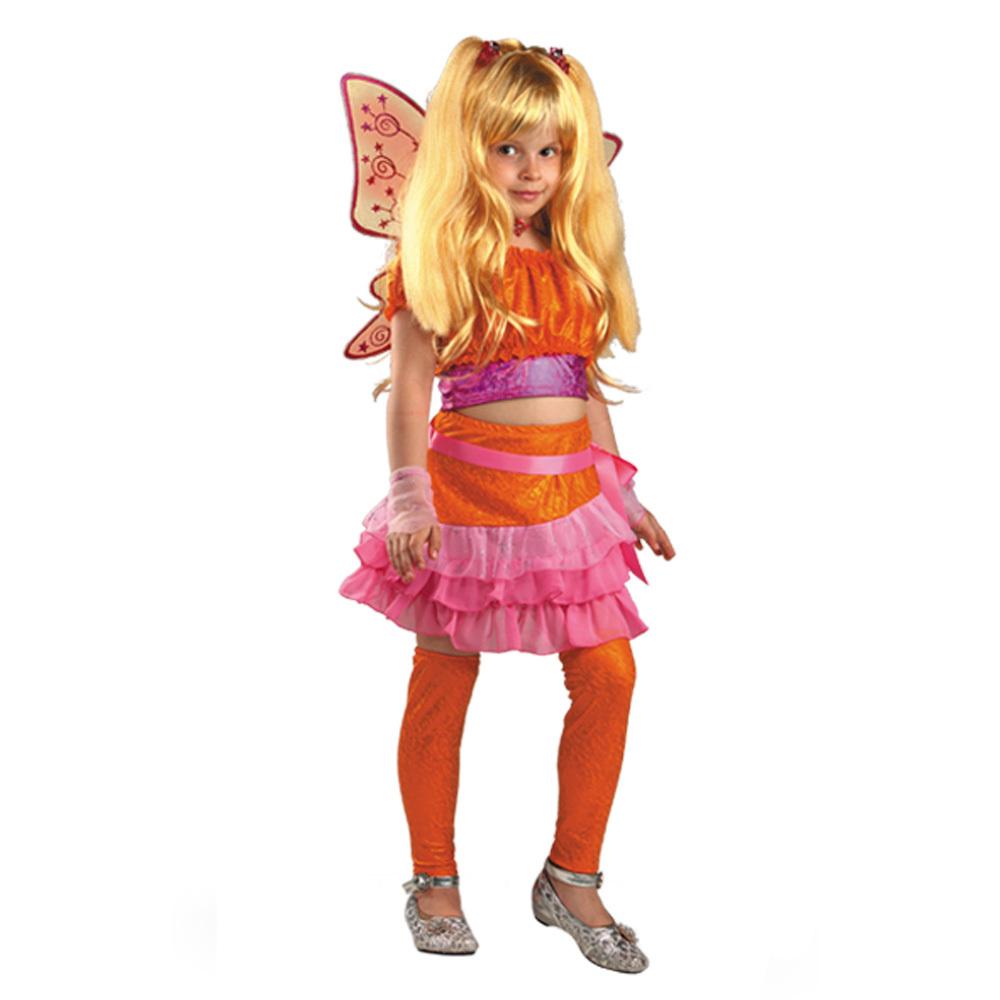 Батик Костюм карнавальный для девочки Стелла размер 34 детский костюм озорного клоуна 34
