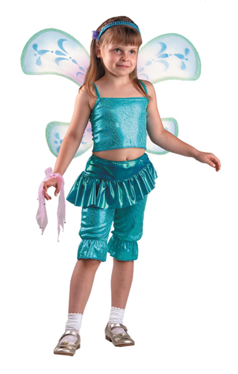 Батик Костюм карнавальный для девочки Лейла Карнавальная ночь размер 34 костюм желтой сказочной феи 32 34