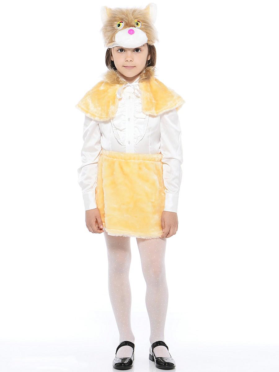 Батик Костюм карнавальный для девочки Кошка Маркиза размер 28 батик костюм карнавальный ежик размер 28