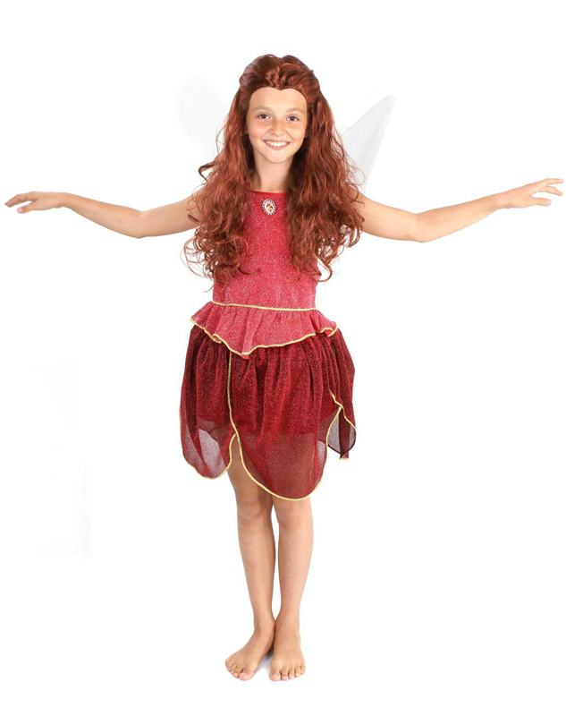 Батик Костюм карнавальный для девочки Фея Розетта размер 32 детский костюм джульетты 32 34
