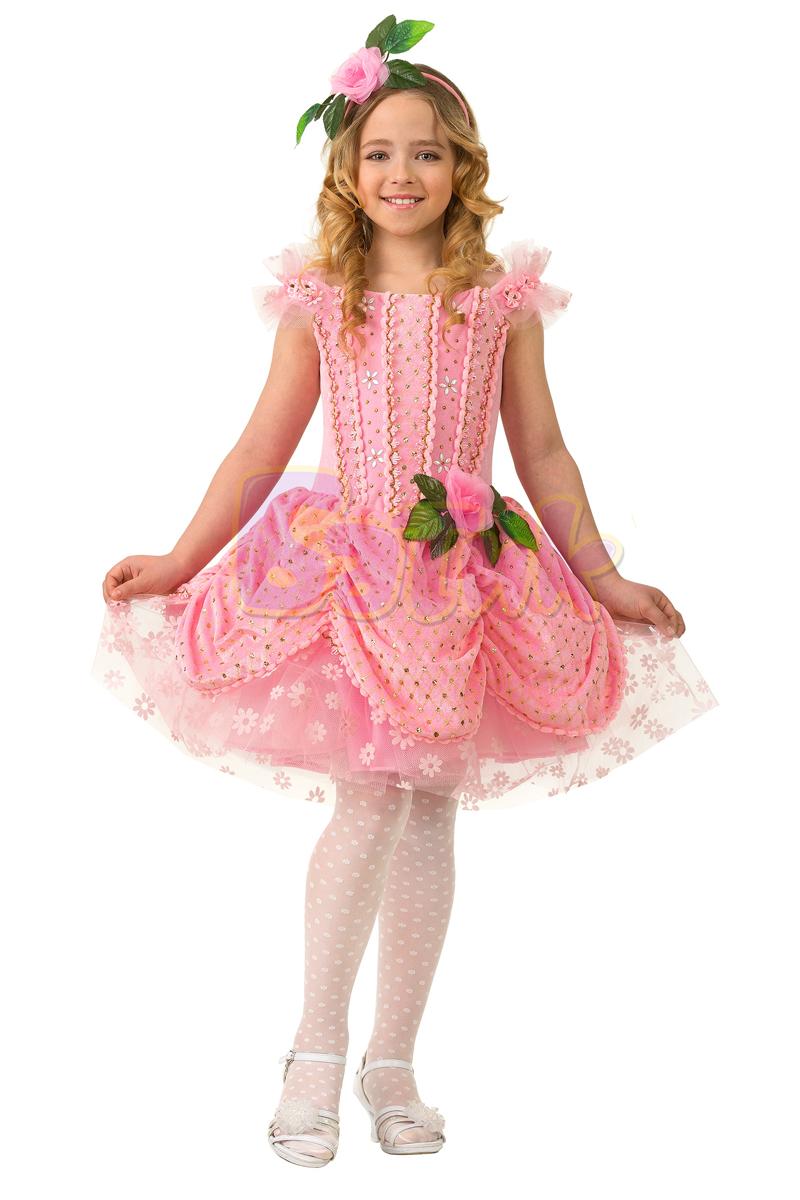 Батик Костюм карнавальный для девочки Дюймовочка размер 36 витус карнавальный костюм дюймовочка
