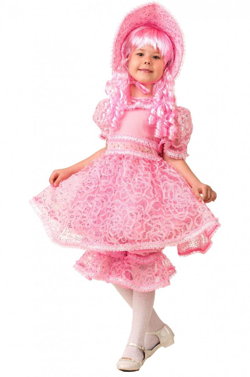 Батик Костюм карнавальный для девочки Кукла размер 36 детский костюм шута 36