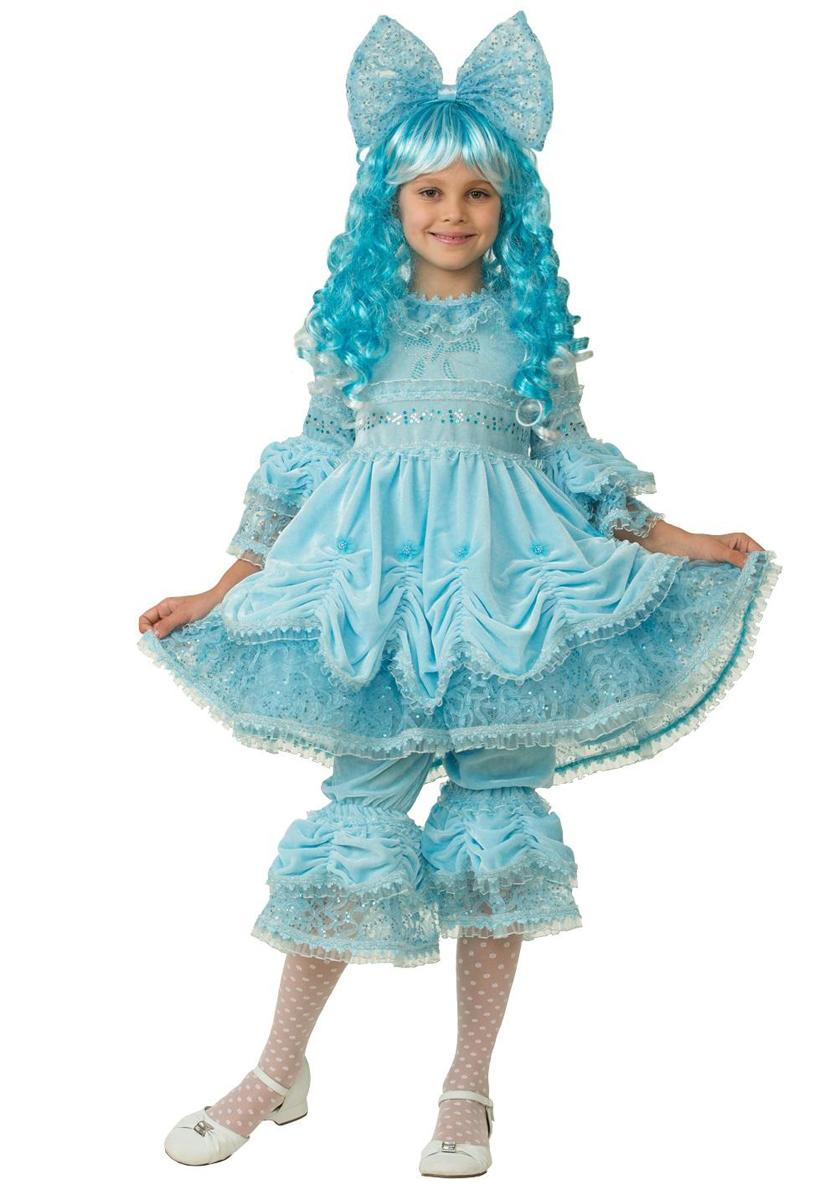 Батик Костюм карнавальный для девочки Мальвина размер 36 детский костюм шута 36