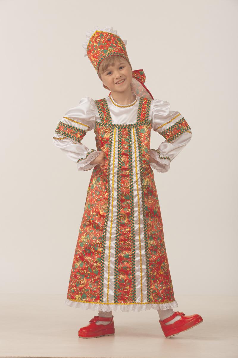 Батик Костюм карнавальный для девочки Аленушка размер 36 витус карнавальный костюм аленушка